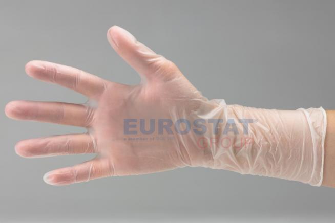 e575fb0934a Jednorázové vinylové rukavice S - 30cm